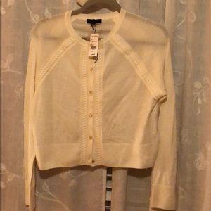 Brooks Brothers cream sweater